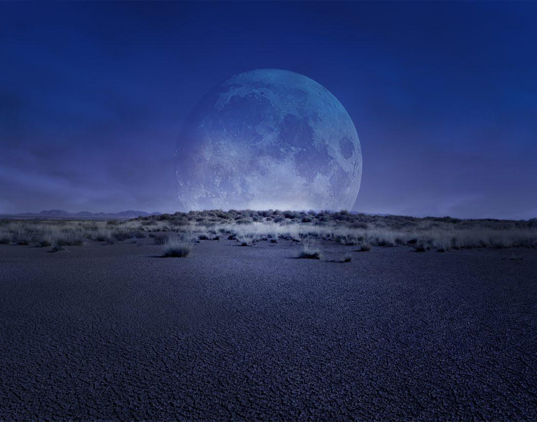 fine art photography moon