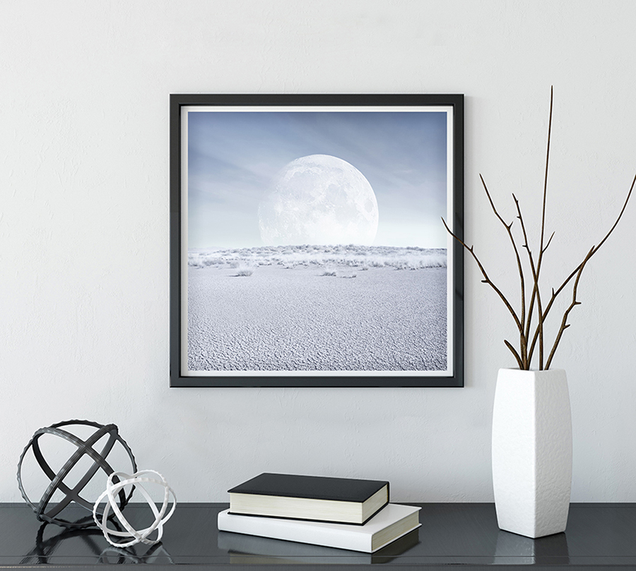 desert moon art prints